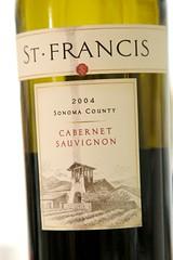 2004 St. Francis Sonoma County Cabernet Sauvignon