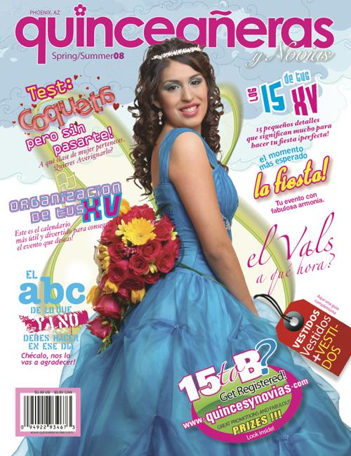 Quinceaneras y Novias Magazine Cover