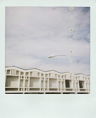 ziczac (So gesehen.) Tags: sky house home lamp architecture clouds polaroid switzerland zurich sunday lofi spots scanned polaroidlandcamera friesenberg polaroid600film polaroid2000 sx70moddedfor600