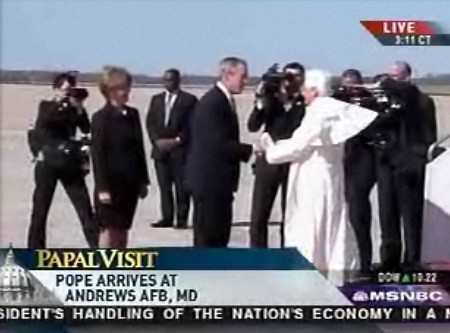 pope lands