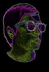 Autoretrato (Payo.) Tags: portrait retrato pop lente shuper