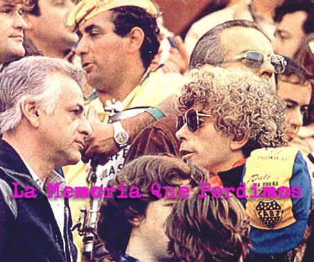 Tribuna Super Clásico - Julio 1981