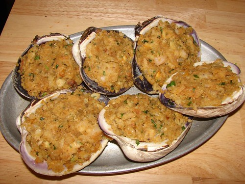 Dave's Cupboard: Stuffies!! (Stuffed Clams)
