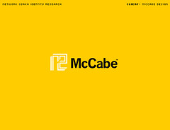 McCabe Logo (_Untitled-1) Tags: orange modern logo corporate design icon identity osaka network simple logotype sansserif mccabe