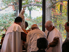 Miracle of the Sun Witnessed by Visitors at New Jersey Shrine (Loci Lenar) Tags: new news statue photography newjersey media shrine flickr catholic image rss god religion jesus nj photojournalism blogger images blogs christian photoblog photograph blogging catholicchurch bloglines priest feed christianity weblogs catholicism miracles flickrblog journalism feeds googlenews netnewswire usnews yahoonews ewtn blessedmother worldnews prophesy warrencounty pressrelease catholicnews internationalnews ourladyoffatima newsrelease signsandwonders bluearmyshrine miracleofthesun nationalbluearmyshrine worldapostolateoffatima newsofmiracles sunmiracle worldapostolateoffatimausa pilgrimvirginstatue christiannews catholicmiracles christianmiracles miraculousnews fatimamiracles