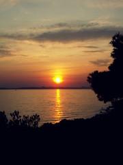 Pašman sunset - EXPLORED :) (Bambola 2012) Tags: europe europa hrvatska croatia croazia dalmatia dalmazia dalmacija island isola otok sea seaside seashore adriatic adriatico jadran jadransko mare more obala costa coast riva beach plaža spiaggia silhouette siluetta silueta summer sun sunce sunset sole tramonto estate ljeto zalazak suton oblaci nuvole clouds sky cielo nebo reflection riflesso odraz odsjaj pašman