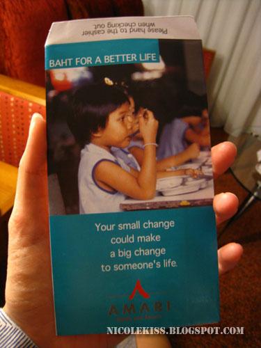 amari donation packet