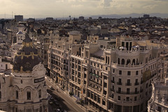 The City Of Madrid (Rob Chiu) Tags: offf madrid workshops cba rooftop heat sun spain work break canon5d 50mm 12l ht