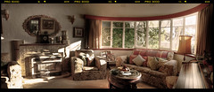 Art Deco House Living Room (heritagefutures) Tags: panorama house art architecture modern living room ps editing deco hdr streamline albury cs3 wodonga interwar decoratif interbelleum