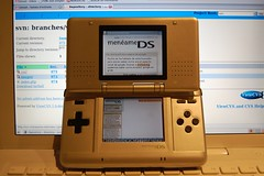 Menéame en Nintendo DS