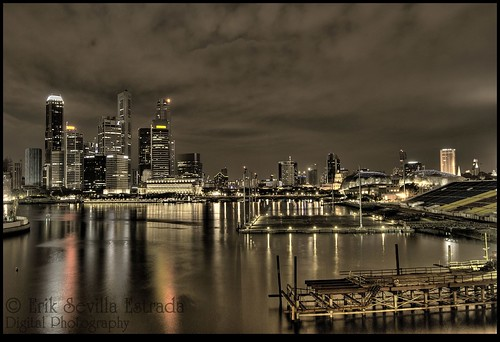 CBD, Singapore @ HDR Night