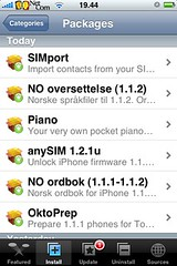 simport iphone