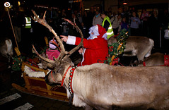Santa in Truro_S12440 (Ennor) Tags: santa christmas uk november reindeer cornwall unitedkingdom fatherchristmas truro 2007 kernow