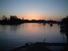 Christchurch Quay (torimages) Tags: sunset christchurch water boats ss quay dorset allrightsreserved donotusewithoutwrittenconsent copyrighttorimages