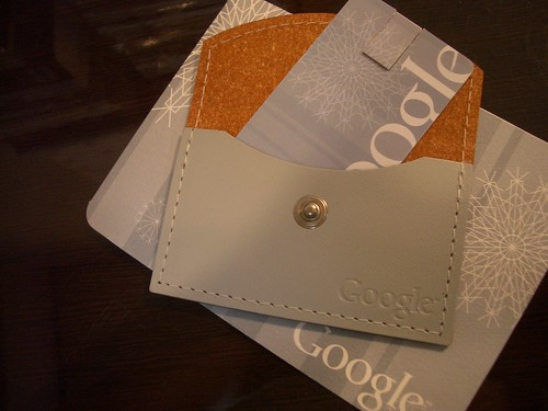 2 GB USB Memory card: Google Holiday Gift
