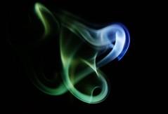 Smoke 2 (bezcorp1) Tags: blue vortex black green art fuji smoke swirl incense catchycolorsgreen s6500fd