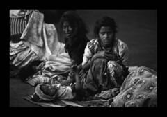 India, Mumbai waking up 04 (Naumachos 1963 - Alessandro Paolini) Tags: travel portrait bw india streetphotography bn bombay mumbai ritratto viaggio agfascala reportage colaba canont90 5photosaday bnvitadistrada 50millionmissingwomenindia ofstreet canonfd70210f40agfa