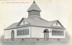 Leelanau Empire High School 1909 John Fry Card No#3
