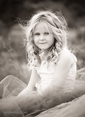 C* (david_CD) Tags: girls portrait bw nature kids hair children rocks moody bokeh outdoor mixer blond tutu losangles childish vasques lightonkids