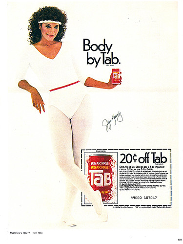 80s Advertisement - Body by TaB