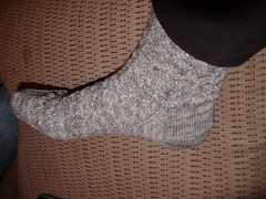 Glitter sock 1