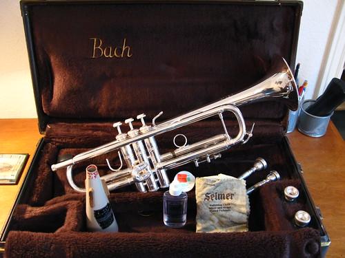Bach Strad Model 37 Bb Trumpet