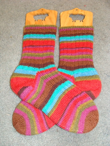 Finished Kaffe Socks!