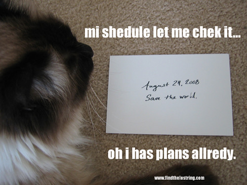 mi schedule let me chek it... oh i has plans allredy