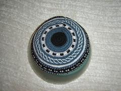 DSC04594 (dtgutman) Tags: crochet yarmulke kipa kippa yarmulka kipot yarmulkah