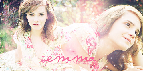 Emma Watson graphic by duck_jolie