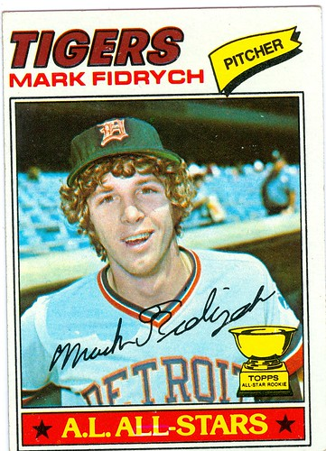 Mark Fidrych 1977 Topps