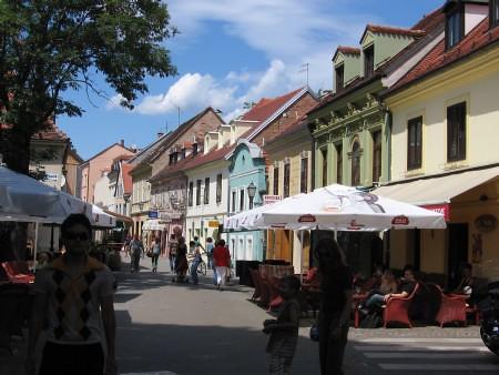 calle Tkalciceva Zagreb