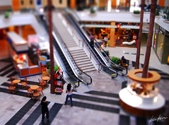 small mall (Kris Kros) Tags: california ca mall toy miniature shift socal kris topanga tilt kkg tiltshift kros kriskros kk2k kkgallery