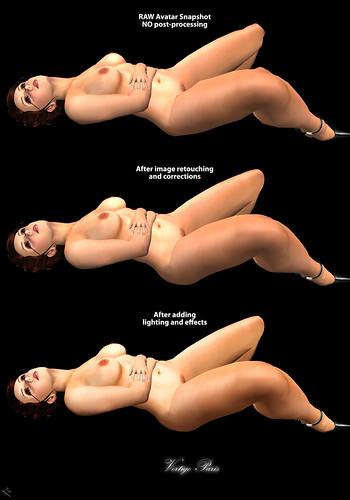 2480389857 ef1a62942a 1) Full body nude in doorway light: We like the unbroken lines of a tasteful ...