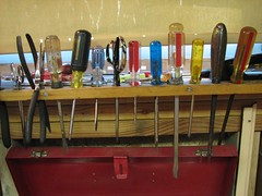 tools workbench screwdrivers toolbox (Photo: 1lenore on Flickr)
