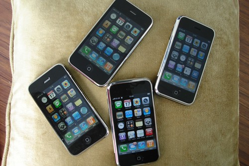 Iphones in the family (bar one who wasnt present...)