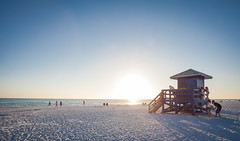 Siesta Key sunset (Images by Arnie) Tags: siesta florida sand winter 2017 images by arnie key beach siestakeybeach sarasota warmth gulf mexico ocean sea water play family
