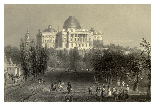 004-Vista del Capitolio en Washington 1840