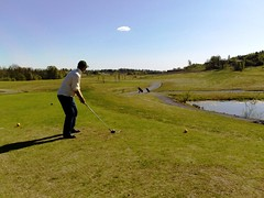 Golf in Norway at Spring #1