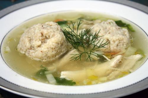 Matzo Ball Soup Healthy Delicious