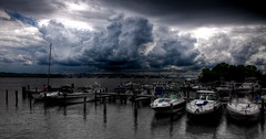 Waterfront storm - HDR (tony.eckersley) Tags: canon mark full ii frame mk2 5d hdr highdynamicrange mkii 2470mm canon5dmkii 5dmkii 5dmk2