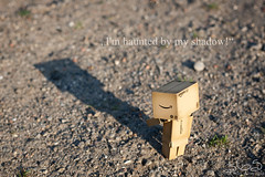 I'm haunted by my shadow! (Oliver Totzke) Tags: 2 nature canon toy 50mm mark days ii 1d 365 f18 18 ef danbo mark2 1dmk2 revoltech danboard