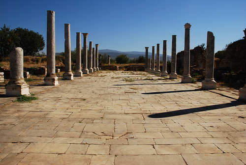 the ruins of Aphrodisias