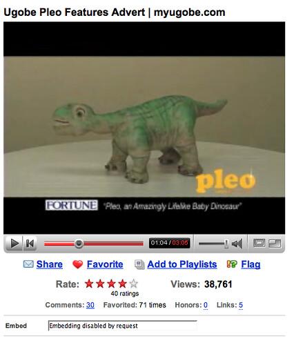 Pleo on YouTube