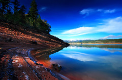 Light and Shade (| HD |) Tags: blue trees light usa lake reflection 20d nature water rock oregon creek canon landscape joseph lost sand pacific northwest stewart shade area hd recreation darwish hamad prospect wwwhamaddarwishcom