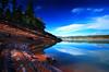 Light and Shade (| HD |) Tags: blue trees light usa lake reflection 20d nature water rock oregon creek canon landscape joseph lost sand pacific northwest stewart shade area hd recreation darwish hamad prospect wwwhamaddarwishcom
