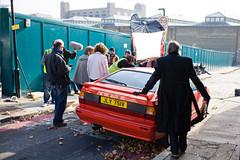 Gene Hunt's Audi Quattro (cybertect) Tags: uk england london unitedkingdom explore canonef35mmf2 audi e1 wapping quattro londone1 lifeonmars canoneos5d ashestoashes philipglenister genehunt keeleyhawes