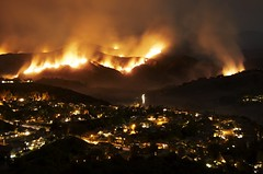 From Santiago to Saddleback (Chris Camargo) Tags: ranch santiago fire october canyon orangecounty oc silverado 07 2007 foothill trabuco slickr modjeska challengeyouwinner