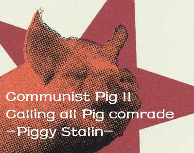 communists pig