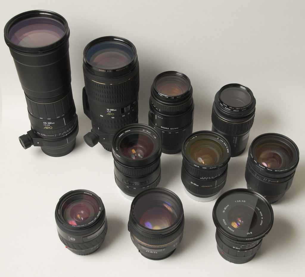 Minolta Lens Family